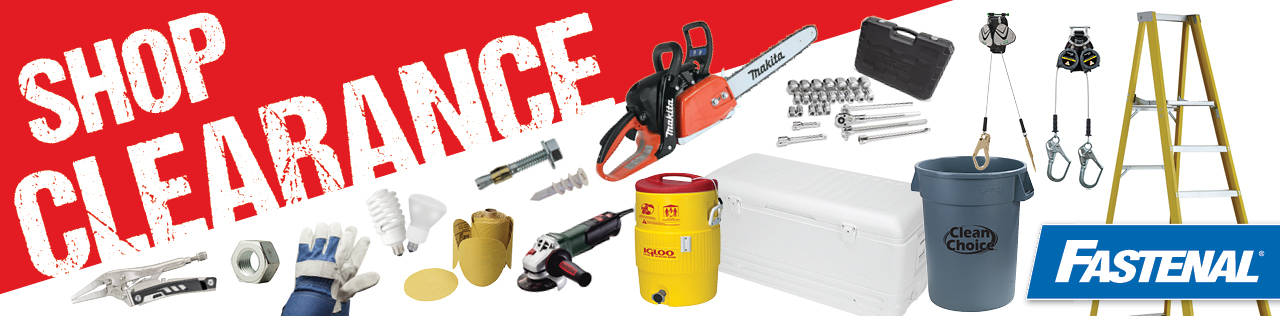 Shop Clearance at Fastenal.