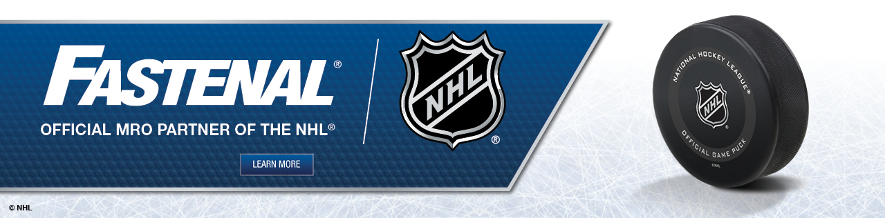 Fastenal - Official MRO Partner of the NHL, Learn More